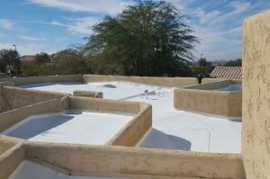 Viewmont Dr. Mesa, AZ Elastomeric Roof Coating