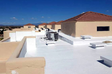 Roof Coating Project for Westby Towers in Fountain HIlls
