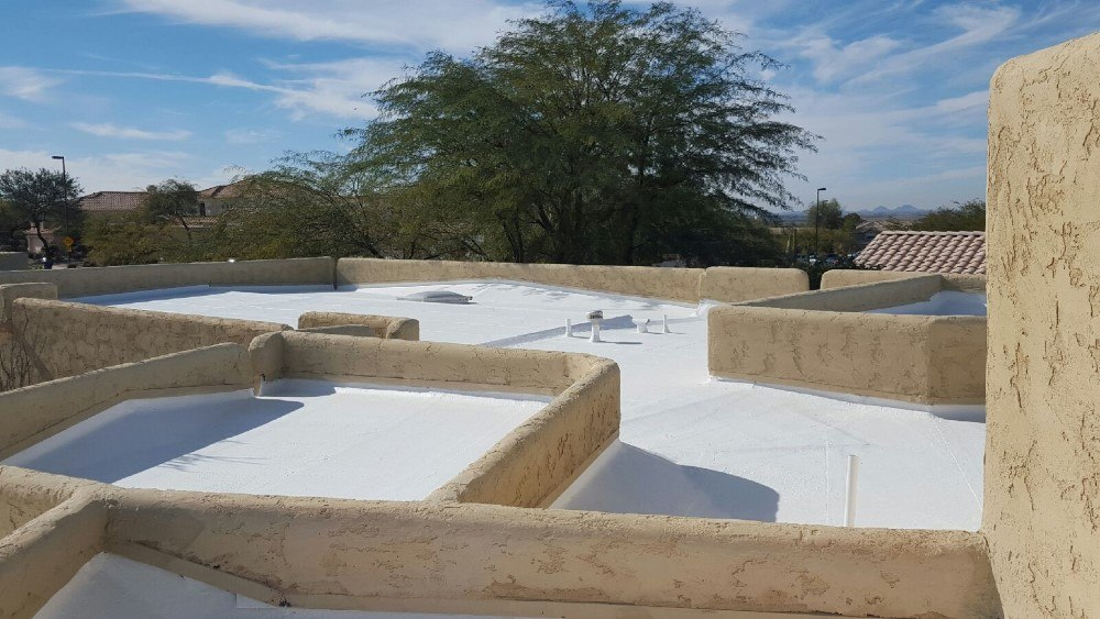 Elastomeric Coating Project In Mesa Az Envision Roof